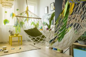 Dżungla w pokoju dziecka